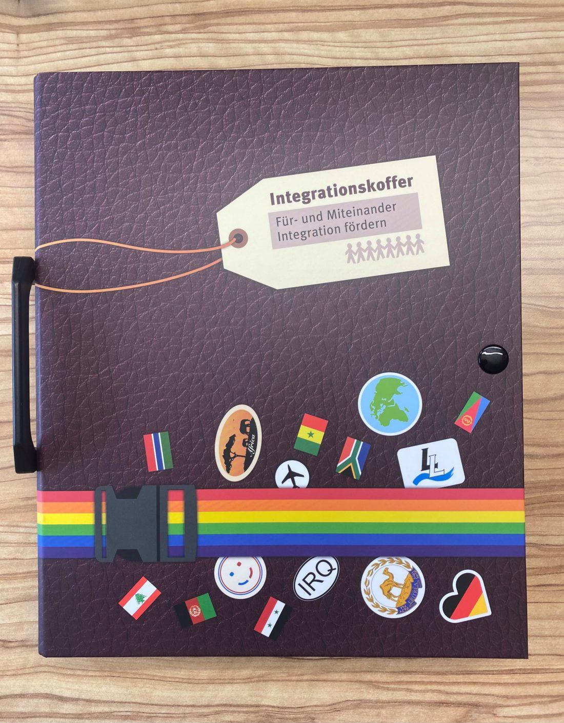 Integrationskoffer, der von der Gebäudereinigung Wasserle aus München verwendet wird